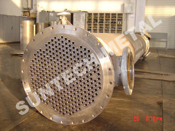Shell Tube Heat Exchanger Chemical Process Equipment 1.6MPa - 10Mpa